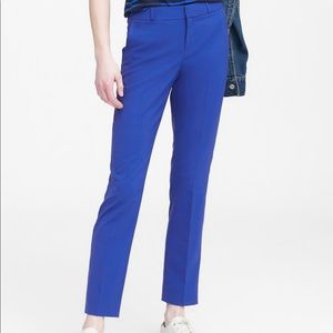 NWT Banana Republic Ryan Royal Blue Trousers